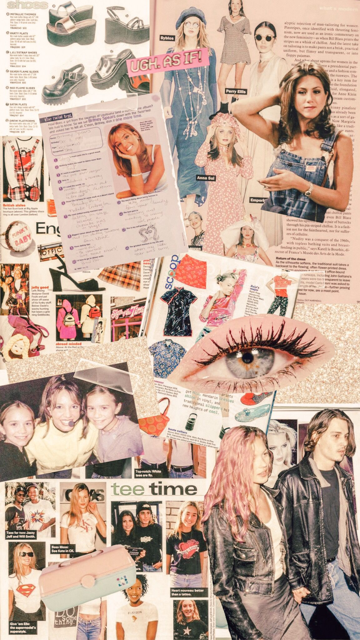 90s collage inspo iphone wallpaper Iphone wallpaper 90s