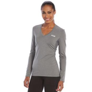 ba09b19b Women's FILA SPORT® Basic Workout Long Sleeve Tee   funny ha ha ...