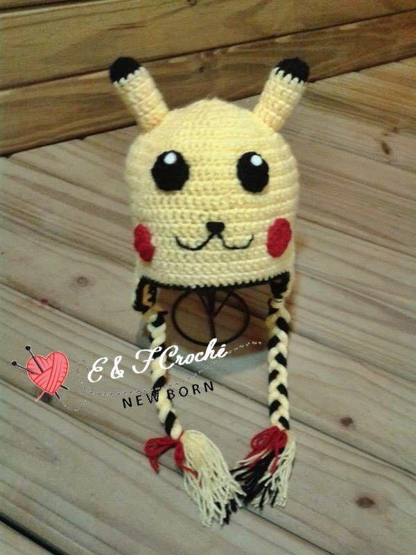 Touca Pikachu  261ff4bd5a1