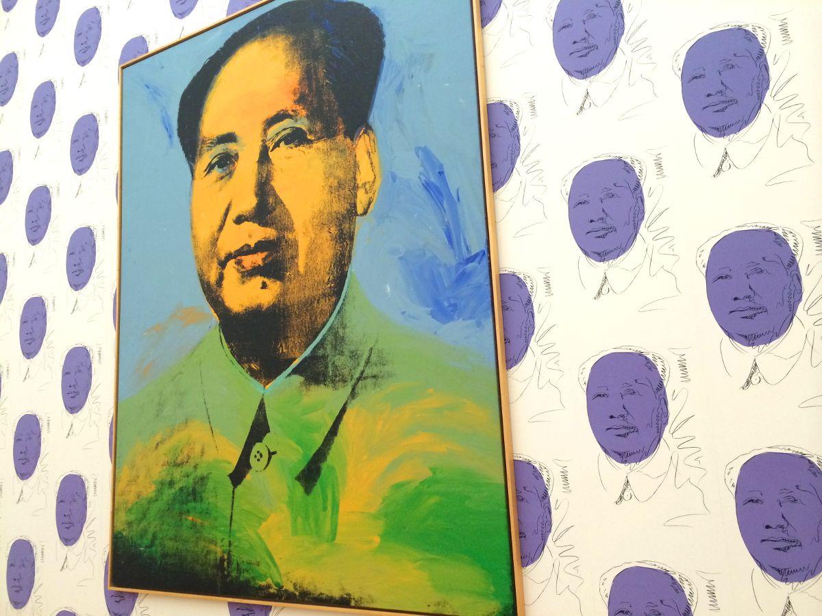 BYCHILL TRAVEL Hamburger Andy Warhol at Banhhoff museum in