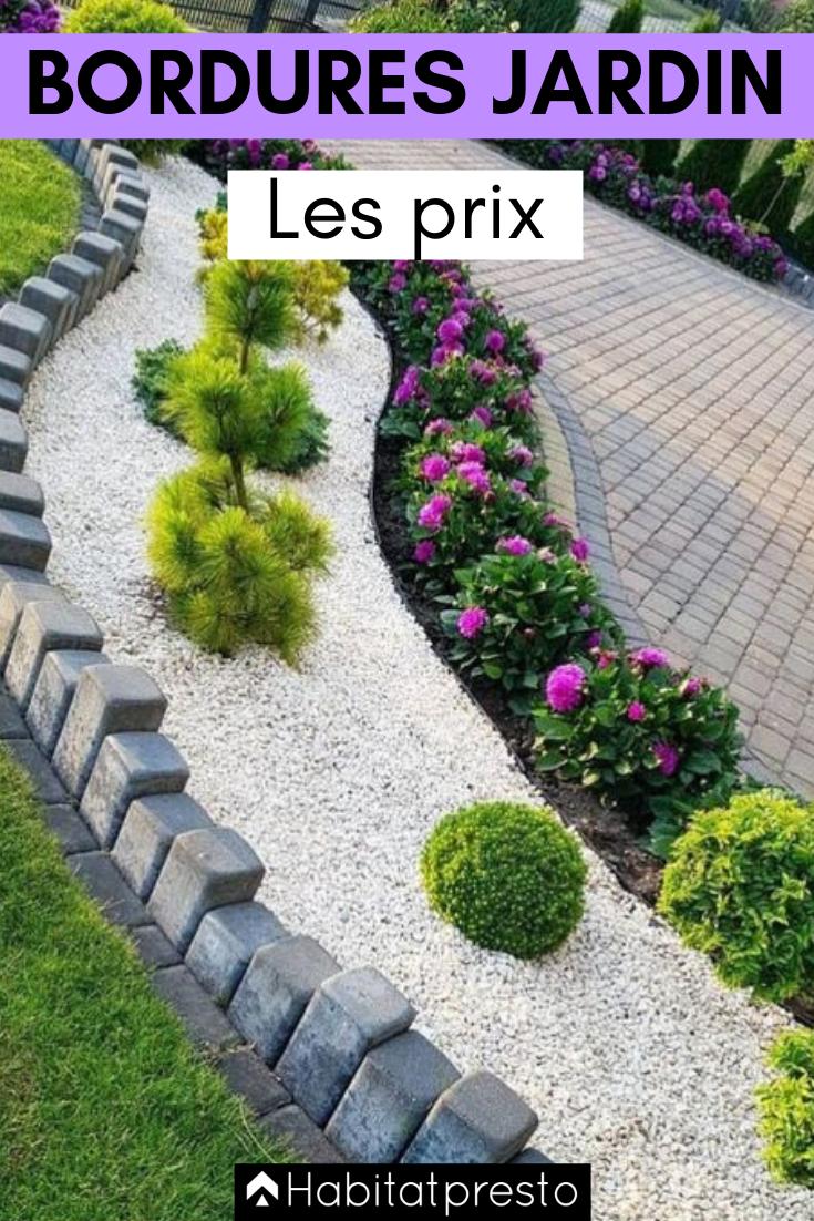 Bordures De Jardin Creer Des Zones Bien Delimitees Bordure Jardin Jardins Decoration Jardin