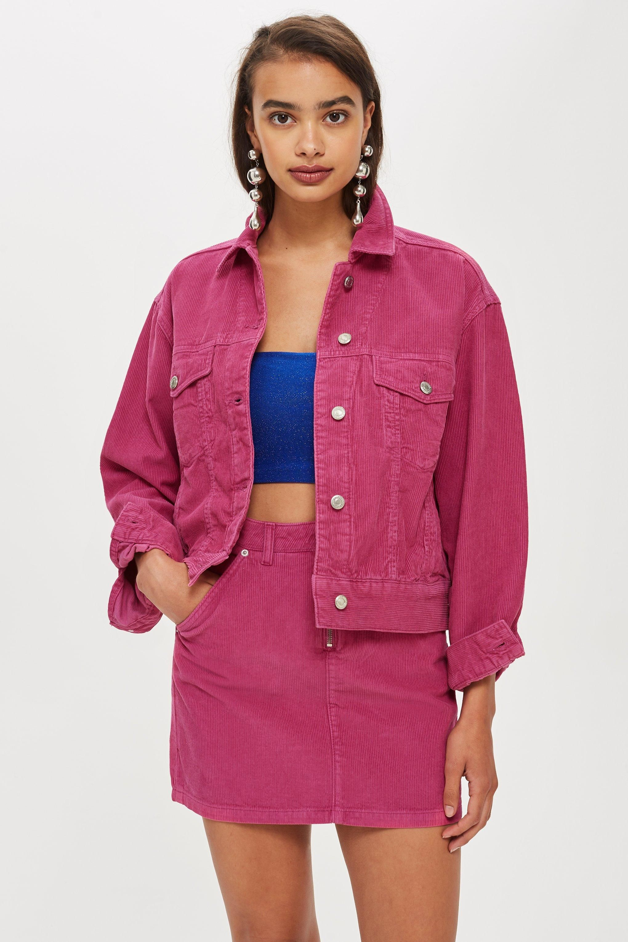 d2a6238861fb Pink Corduroy Co-ord Set - Denim - Clothing - Topshop USA #fashion #trends  #winter #corduroy #fw18 #fashionweek