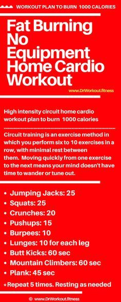 Cardio exercises to burn fat at home