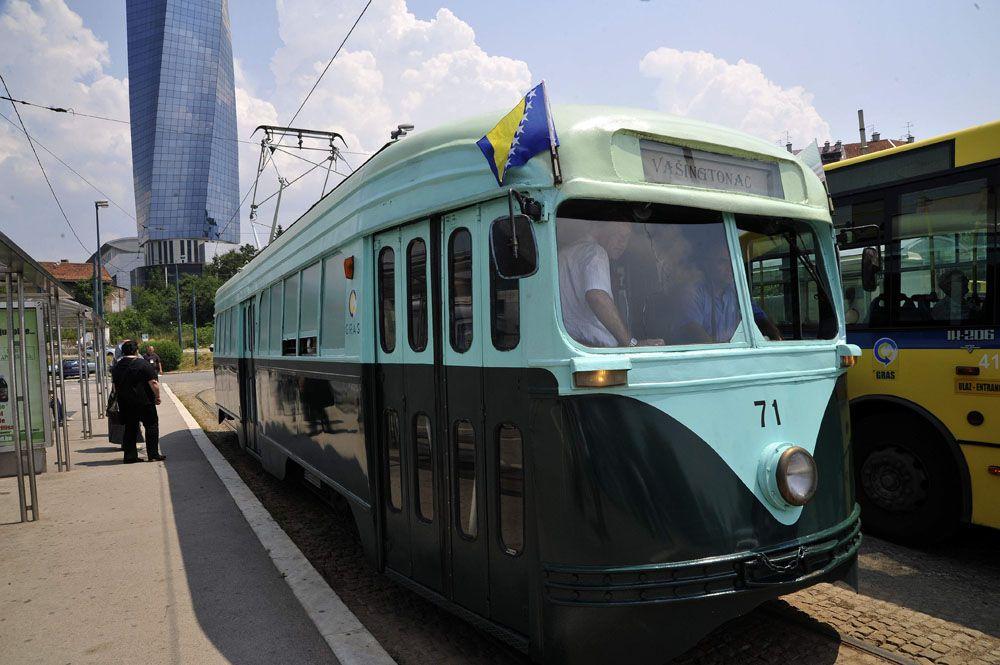 'Vasingtonac' - 60's tram in Sarajevo