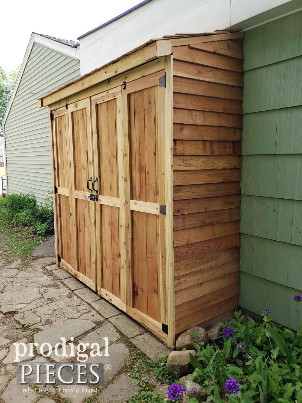 Under deck storage idea Garden shed, Shed, Outdoor