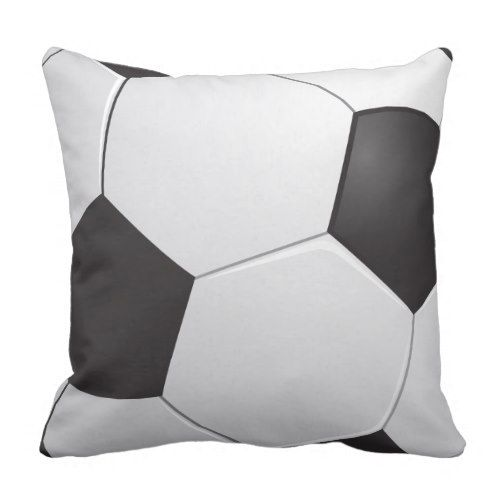 Football Soccer Throw Pillow | Zazzle