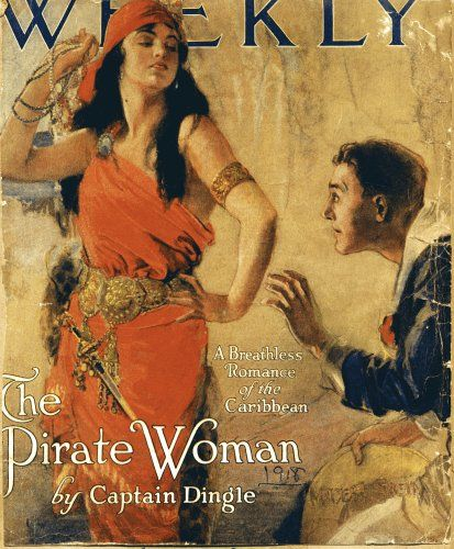 Lady Pirate Magazine Cover from Little Grey Bungalow