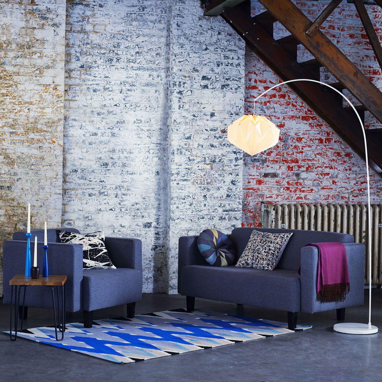 Elegant Contemporary Living Room Furniture: Heal's Hiro Floor Lamp