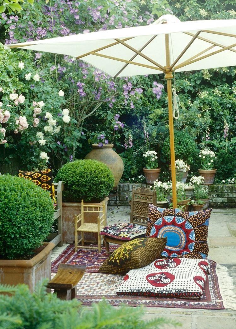 20+ WONDERFUL MOROCCAN PATIO DECOR AND DESIGN IDEAS ... on Moroccan Backyard Design id=13045
