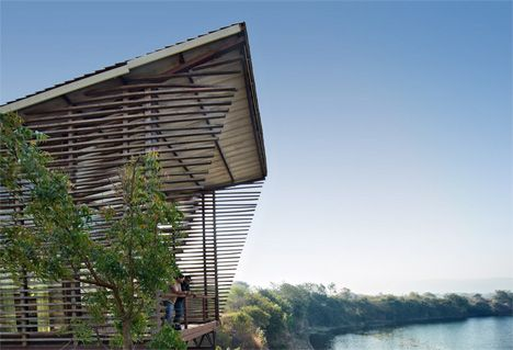 Attractive Distance Shot Over Water House | Exterior | Pinterest | Distance, Winsome  Wood And House