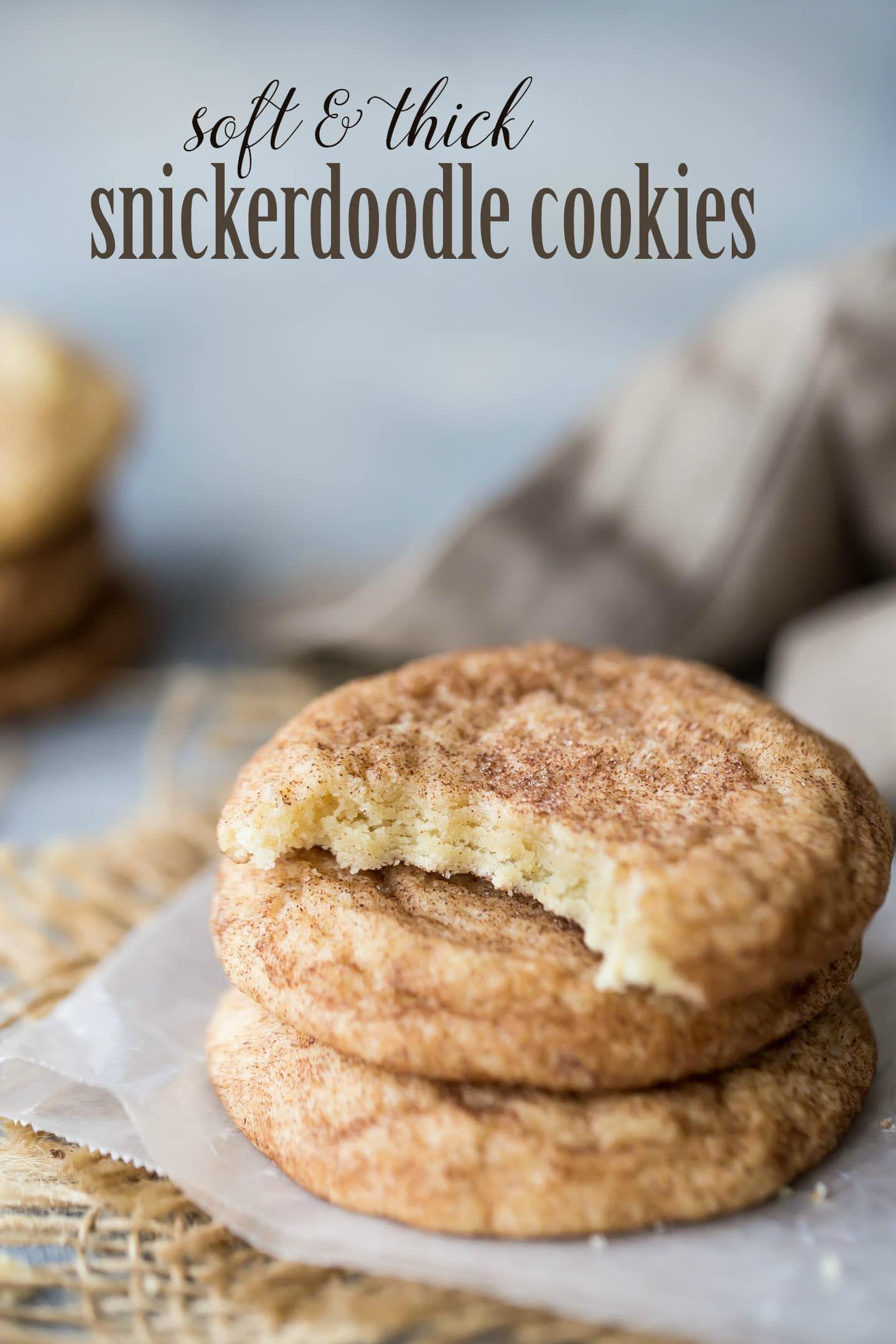 Soft Snickerdoodle Cookie Recipe Food Pinterest Cookies