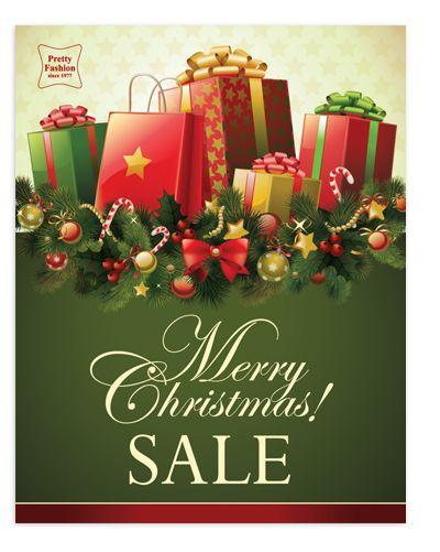 Big Christmas Gift Sale Poster Template Nice Christmas Sale Poster ...