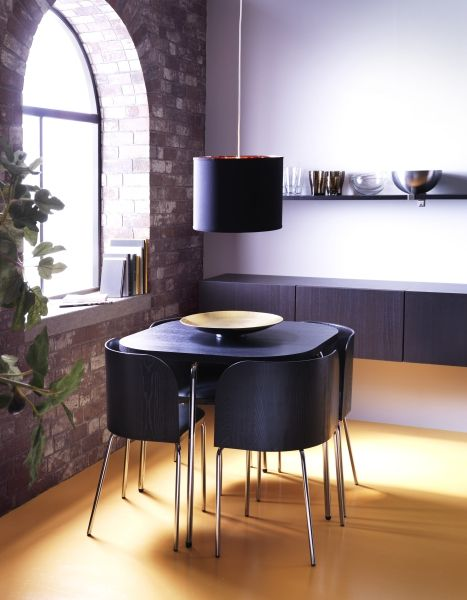 I Love This Idea For A Table Chair Set In The Breakfast Nook Area Ikea Fan Favorite Fusion Dining And Chairs Backs Are Shaped To Fit