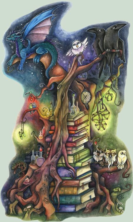The Magical Tree By Kiri Okami On Deviantart Art In 2019
