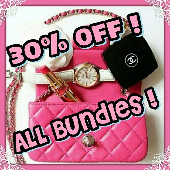 30% off Bundles of 4 or more!/ Save big on SPRING Fashion & Accessories! Plus make up & Shoes! It's ALL on sale! Accessories