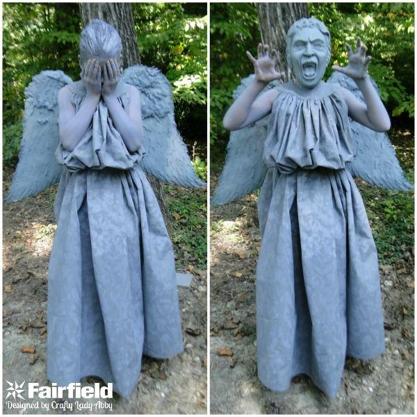 DIY Weeping Angel Costume Part 1 | Holiday: Halloween ...