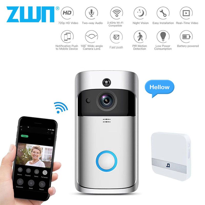 Check Out The Latest Doorbell Camera S Of 2019 With Our Blog Doorbell Camera Wireless Home Security Home Security Monitoring
