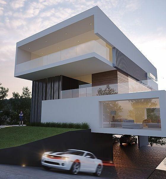 ғᴀɴᴄɪᴇsᴛ ᴀʀᴄʜɪᴛᴇᴄᴛᴜʀᴇ Fanciest Architecture Fotos Y Vídeos De Instagram Luxury House Plans Minimalist Architecture House Architecture Design