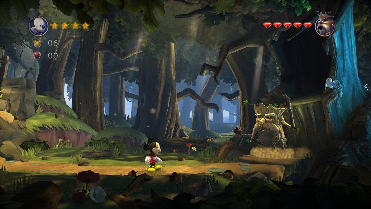 Mickey Castle of Illusion - SEGA
