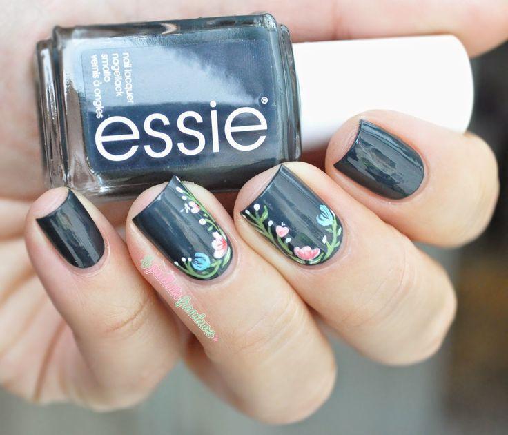 Essie The perfect cover up // Sombre mais végétal | Manicuras ...