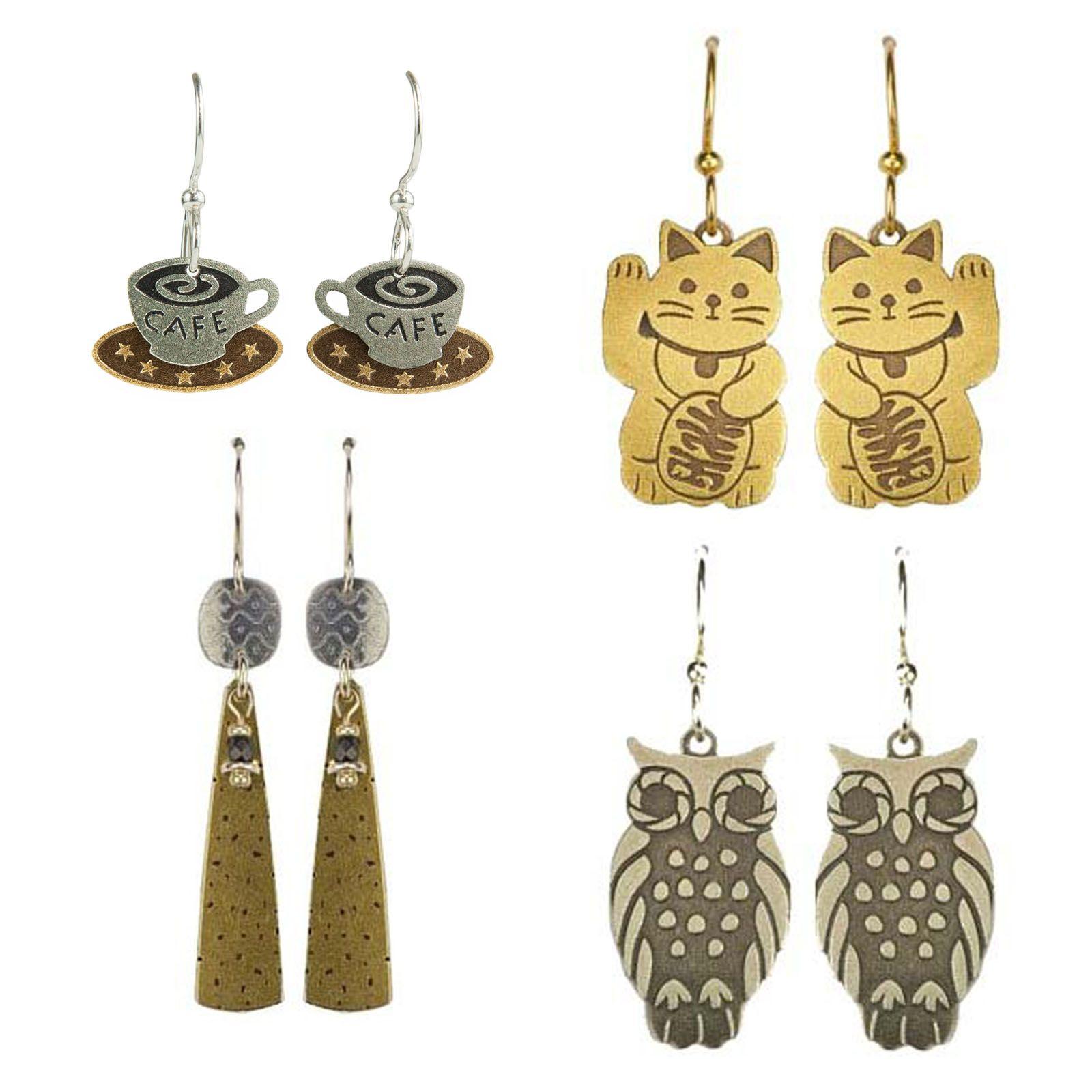 Gold- & Silver-toned Earrings - Joseph Brinton Jewelry | Touchstone Gallery