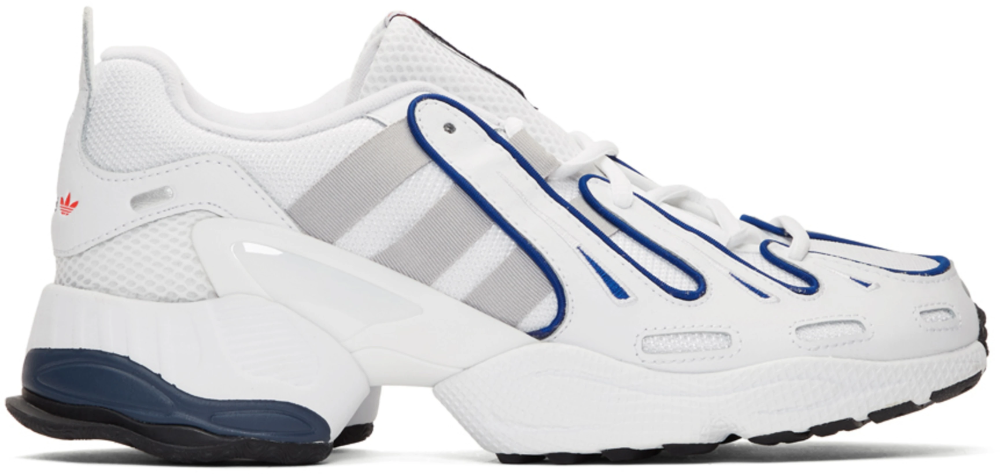 adidas Originals | Yung 1 leather, suede and mesh sneakers