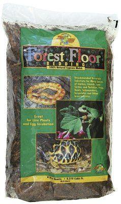 Zoo Med Aquatrol Inc Forest Floor Bedding 8qt Forest