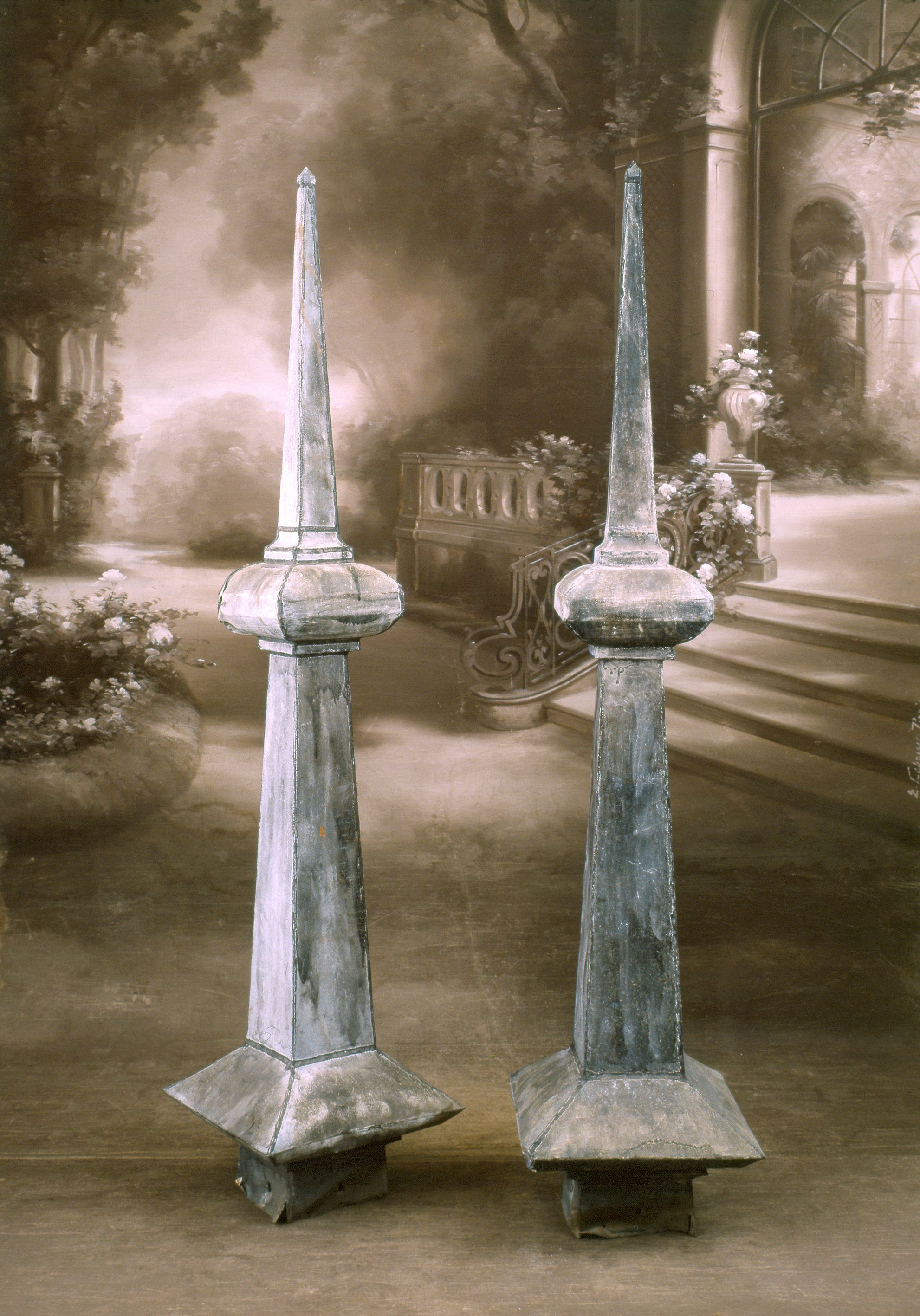 Tall French Zinc Roof Finials Appley Appleyhoare Com