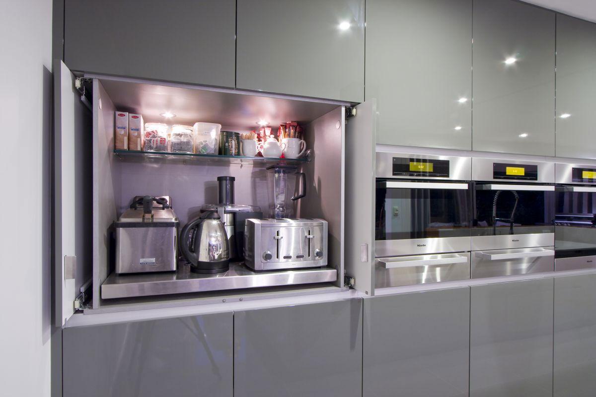 Modern storage area - Storage Contemporary Kitchen Remodel By Darren James