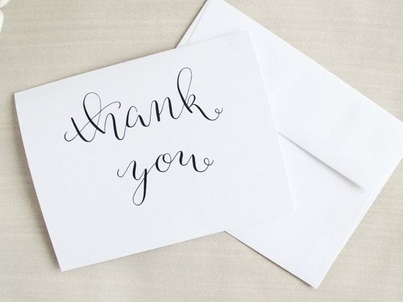 Bulk Thank You Cards Wedding Business Baby Bridal Shower