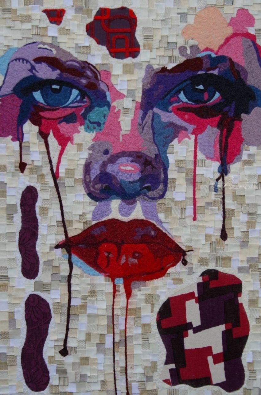 Titleempatica artist namedom dom descriptiontessuti su legno