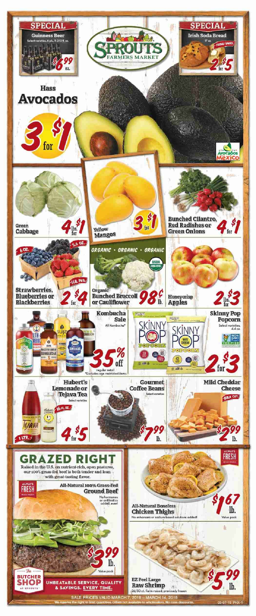 Sprouts Weekly ad Flyer July 10 - 17, 2019 | Weekly Ad Circulars