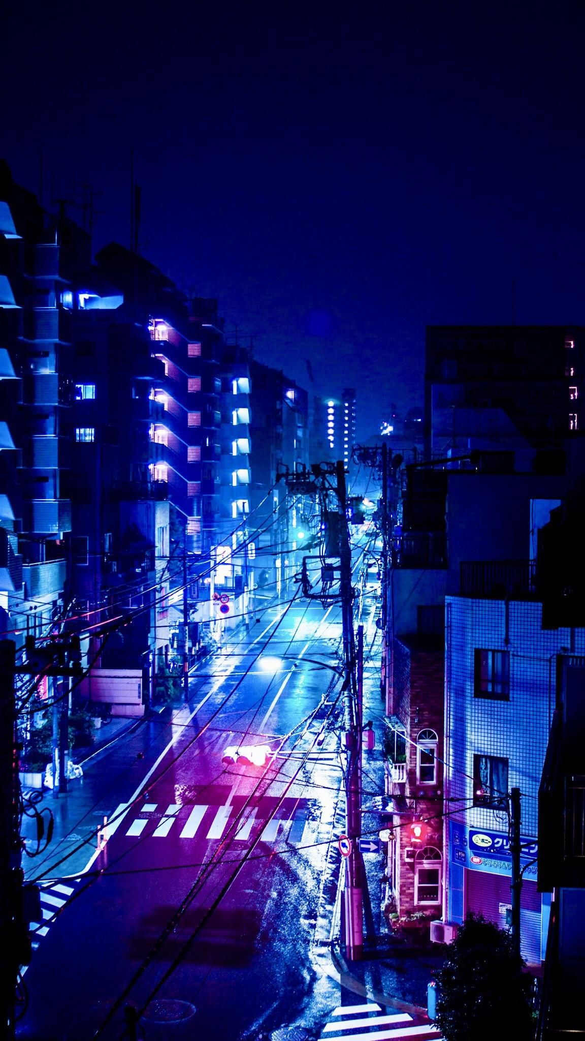 City Lights Download At Http Www Myfavwallpaper Com 2018 07 City Lights Html Iphonewallpaper Phonewallpaper Back City Aesthetic City Wallpaper Anime City