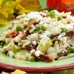 Chicken Orzo salad.... looks like a great healthy cooking website too!