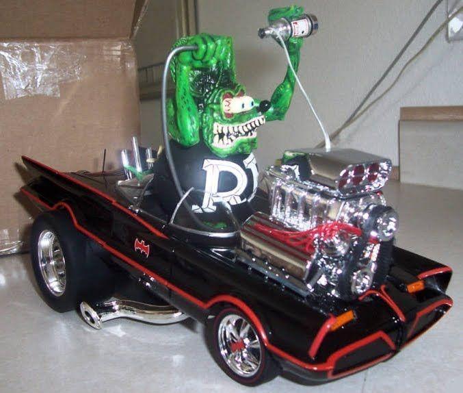 Bat Blog Batman Toys And Collectibles Rat Fink 1966 Batmobile