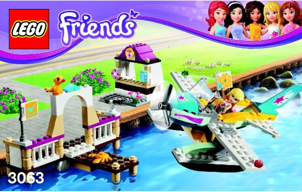 Lego Friends Instructions Childrens Toys Kid Activity Ideas