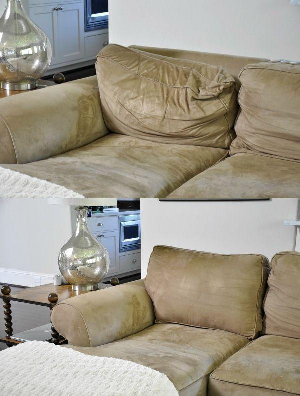 Fix Sagging Couch Repair Sofa Cushions, How To Repair Sofa Pillows