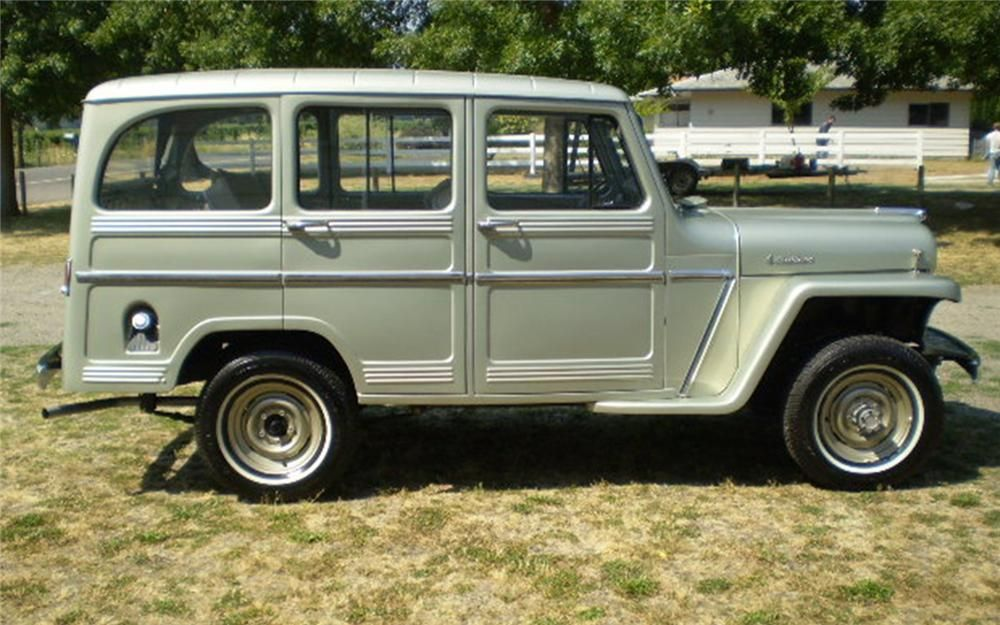 1960 Willys 4 Door Station Wagon Barrett Jackson Auction Company