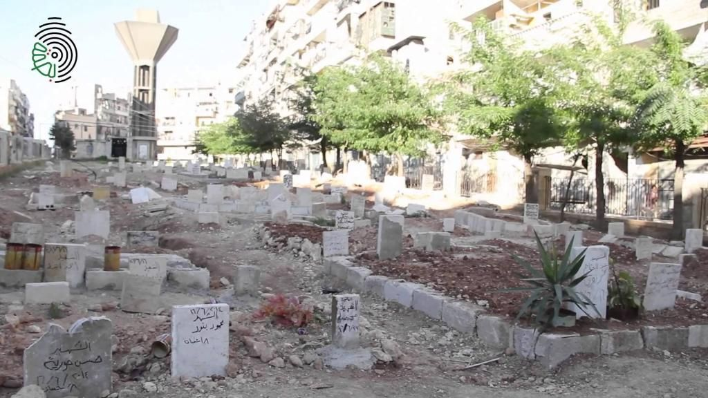 Aleppo: 'We are burying people in parks and empty lots'