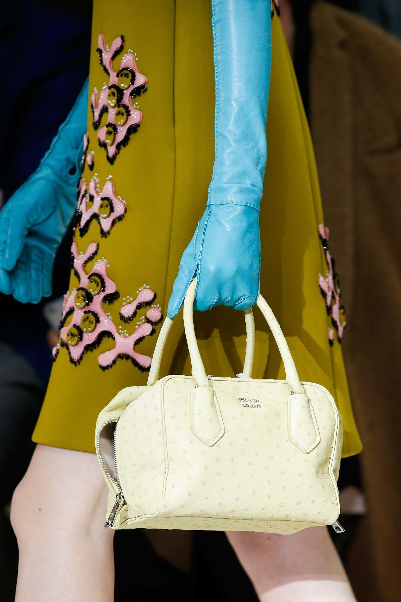 Handbag, Prada, Fall 2015 Ready-to-Wear