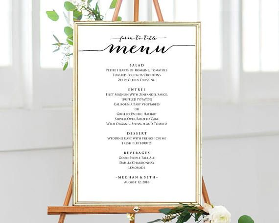 farm to table menu template instantly download edit and print your