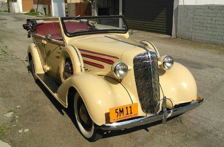 Hemmings Find of the Day – 1936 Chevrolet Standard phaeton