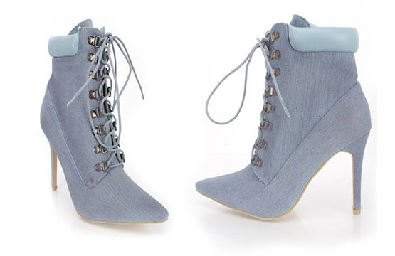 Get 60% off these cute denim boots at PinkBasis! If you need to ship outside the States, get a GoSend address. Ends 24.11.