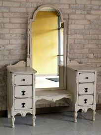 Beautiful Antique Vanity With Full Length Mirror 350 Youre So