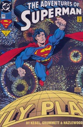 The Adventures of Superman #505 - Special cover