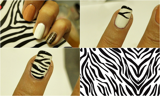 Zebra Nail Designs And Ideas Nails Pinterest Zebra Nails
