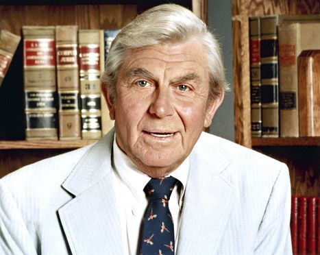 """Andy Griffith (6/1/1926 – 7/3/2012) was an American actor, television producer, Grammy Award-winning Southern-gospel singer, and writer. Best known for his roles as Sheriff Andy Taylor in """"Mayberry RFD"""" and the wiley attorney Ben Matlock in """"Matlock"""""""