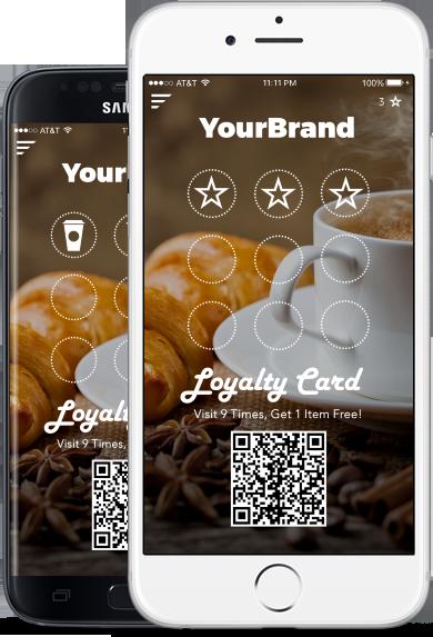 Thinapp Custom Mobile Apps In 48 Hrs Mobile App App Loyalty Card