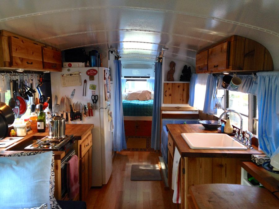 Just Right Bus School Bus Tiny House Bus Remodel
