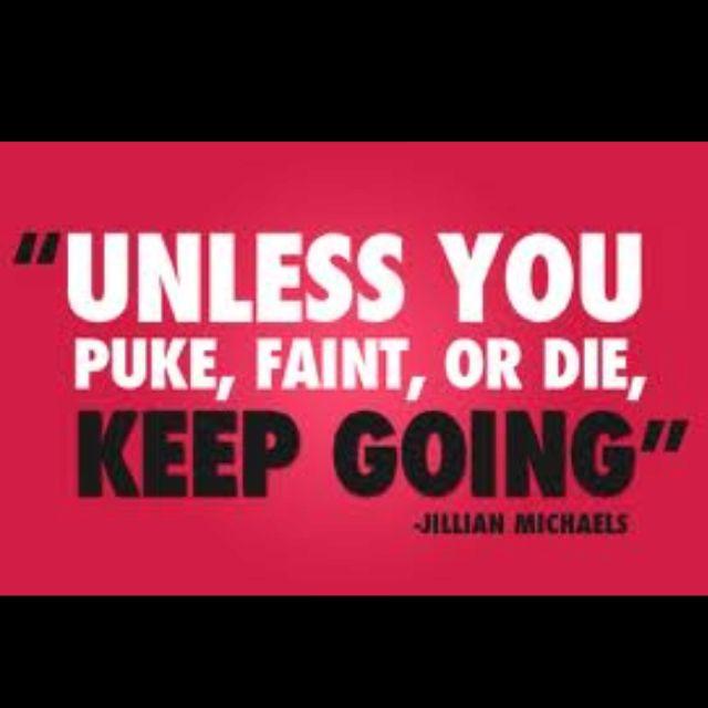 Jillian is an evil B#%*! But I love the 30 Day Shred.